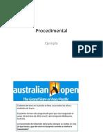 Procedimental