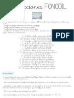 Instrucciones FONODIL