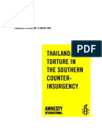 THAILAND Torture in  the Southern Counter-Insurgency