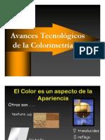 Avances Tecnologicos de La Colorimetria