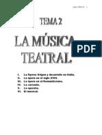 Musica Teatral.