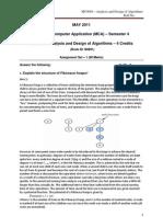 MC0080 _ Analysis and Design of Algorithms Set û 1