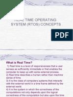 RTOS Concepts