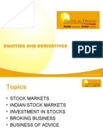 Equity and Equity Advisory