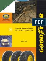 Fora de Estrada Diagonais - Goodyear