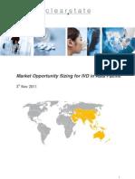 Executive Summary Invitrodiagnostics markets Asia