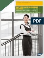 SAP CRM Rapid-Deployment Solution