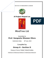 37187719 a Report on MindTree