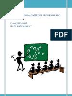 FUENTE JUNCAL PLAN DE FORMACIÓN11-12