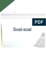 III.1 Soal-Soal Job Order Costing
