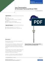 Sonda Temperatura Wika DS TE6010 GB 2032