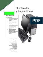 El ordenador y los periféricos