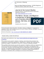 J Curr Studies Europe Migration Citizenship