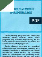 Population Programs