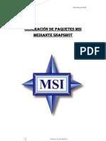 Generación de paquetes MSI mediante Snapshot