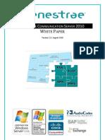 Whitepaper FenestraeCommunicationServer 2010