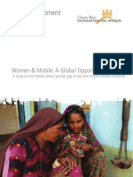 Women and Mobile a Global Opportunity