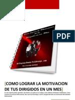 Reporte-gratuito Sobre La Motivacion