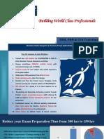 FRM, PRM & CFA Trainings