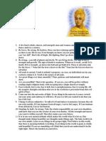 Quotes of Swami Vivekananda