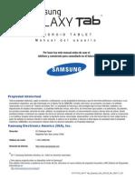 Manual Samsung Galaxy Tab GT-P1010