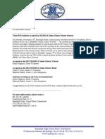 Senior District Press Release