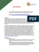 EUPL Compatible Licences 26-07-2011