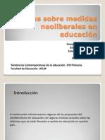 Noticias Neoriberalismo en Educacion Estefania