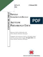 ED PSAK 33 (Revisi 2011)-Akuntansi an Umum