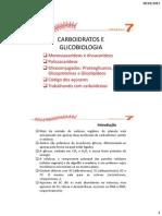 Carboidratos e Glicobiologia Aula 1
