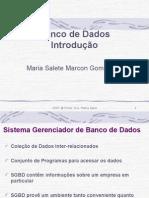 Banco de Dados - 1º Slide