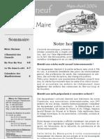 Lettre du Maire -2004-03