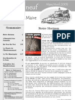 Lettre du Maire -2005-05