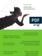BT Feature Line User Guide_New2011