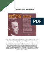Rittelmeyer - Rudolf Steiner ulazi u moj život
