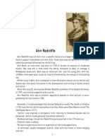 Ann Radcliffe Biography