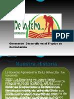 Emprendimientos Rurales Cadena Productiva Del Palmito de La Selva