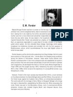 E. M. Forster Biography