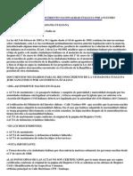 Requisitos Reconocimiento Nacionalidad Italiana Por Ancestro