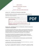 Libro Cuarto Infracciones y Sanciones Ct