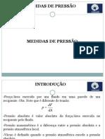 Cap 9 - Medidas de Pressão