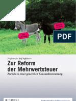Zur Reform der Mehrwertsteuer