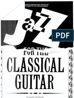 17102238 JAZZ for the CLASSICAL GUITAR 17 Famous Standards Ed Robbins Music Transc Zaradin