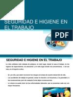 4.Seguridad e Higiene en El Trabajo Diapositivas