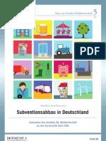 Subventionsabbau in Deutschland