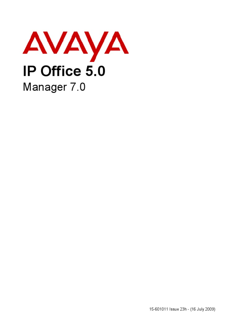avaya ipoffice 5 manager manual copyright software rh scribd com  avaya ip office intuity mailbox mode user guide