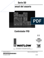 Watlow Control d Temp SD