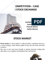 stock exchange case study