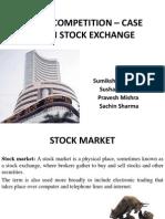 stock exchange case study