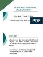 DNA BIOSENSOR Review and Principle